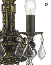 AMERICANA 2 Light Wall Sconce - Edwardian - Antique Bronze Style - Designer Chandelier