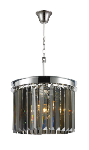 NewYork Oasis Open Ring Chandelier- Smoke Finish - W:30cm - Designer Chandelier  NewYork Oasis Open Ring Chandelier- Smoke Finish - W:30cm - Designer Chandelier