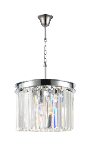 NewYork Oasis Open Ring Chandelier- Clear Finish - W:30cm NewYork Oasis Open Ring Chandelier- Clear Finish - W:30cm