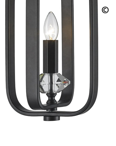 NewYork Allure - Single Light - Dark Bronze - Designer Chandelier  NewYork Allure - Single Light - Dark Bronze - Designer Chandelier