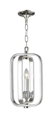 NewYork Allure - Single Light - Silver Plated - Designer Chandelier  NewYork Allure - Single Light - Silver Plated - Designer Chandelier
