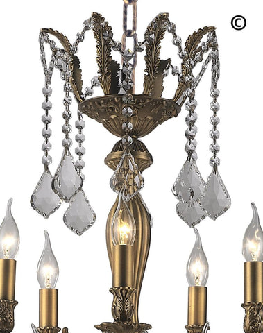 AMERICANA 25 Light Crystal Chandelier - Brass Finish - Designer Chandelier  AMERICANA 25 Light Crystal Chandelier - Brass Finish - Designer Chandelier