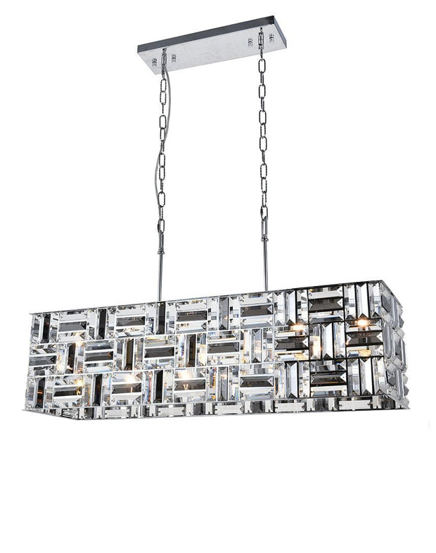 Aurora Bar Light - NewYork Rectangle Bar Chandelier - Length: 90cm - Designer Chandelier
