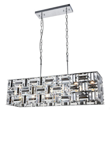 Aurora Bar Light - NewYork Rectangle Bar Chandelier - Length: 90cm - Designer Chandelier  Aurora Bar Light - NewYork Rectangle Bar Chandelier - Length: 90cm - Designer Chandelier