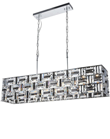 Aurora Bar Light - NewYork Rectangle Bar Chandelier - Length: 120cm - Designer Chandelier  Aurora Bar Light - NewYork Rectangle Bar Chandelier - Length: 120cm - Designer Chandelier