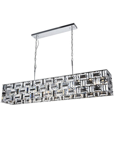 Aurora Bar Light - NewYork Rectangle Bar Chandelier - Length: 150cm - Designer Chandelier  Aurora Bar Light - NewYork Rectangle Bar Chandelier - Length: 150cm - Designer Chandelier