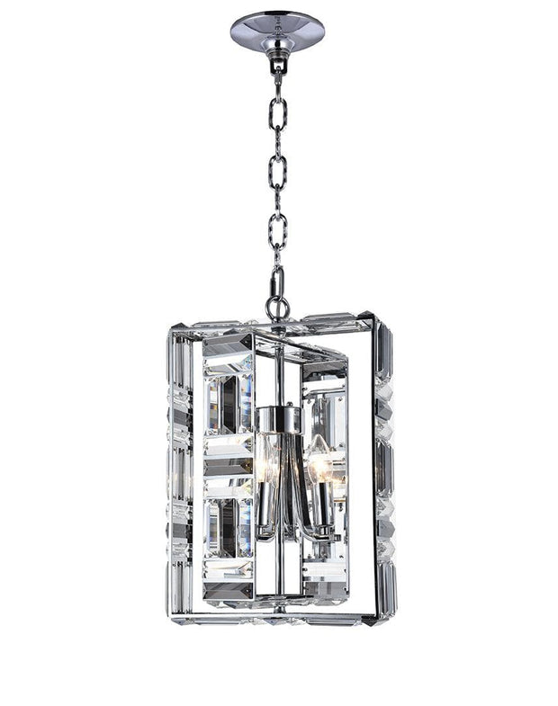 Aurora NewYork - Rectangle Pendant -  4 Light - Designer Chandelier