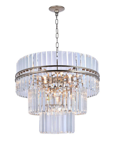 Ashton Collection - Three Tier - 68cm - Champagne - Designer Chandelier