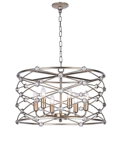 Eliza Collection - Round Pendant- Width: 55 cm - Designer Chandelier
