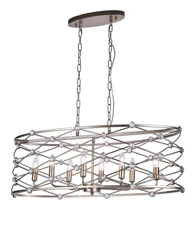 Eliza Collection - Bar Light - Length: 96 cm - Designer Chandelier