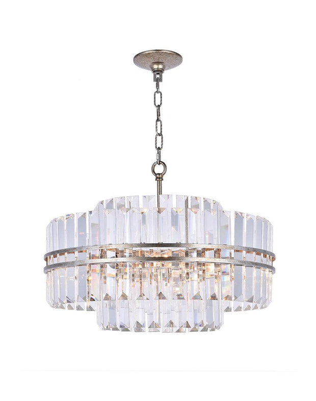 Ashton Collection - 55 cm - Champagne Finish - Designer Chandelier