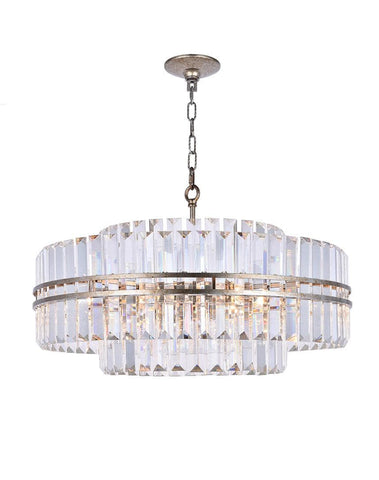 Ashton Collection - 68cm - Champagne Finish - Designer Chandelier