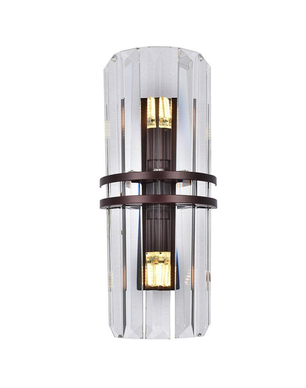 Ashton Collection - Wall Sconce - Warm Bronze Finish - Designer Chandelier