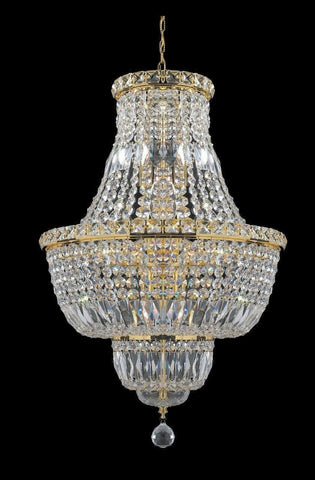 Empress Crystal Basket Chandelier - GOLD 12 Light-Designer Chandelier Australia