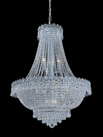 Empire Basket Chandelier - CHROME - 12 Light-Designer Chandelier Australia