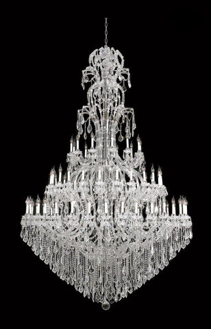 Maria Theresa Crystal Chandelier Royal 72 Light - CHROME