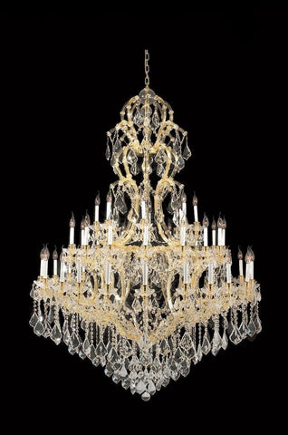 Maria Theresa Crystal Chandelier Royal 48 Light - GOLD