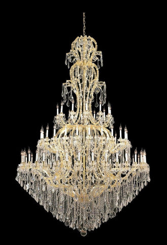 Maria Theresa Crystal Chandelier Royal 72 Light - GOLD