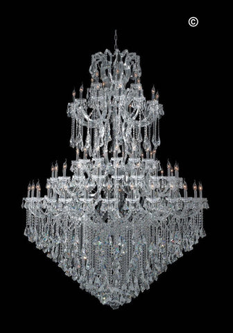 Maria Theresa Crystal Chandelier Grande 84 Light- CHROME - Designer Chandelier