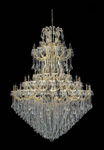 Maria Theresa Crystal Chandelier Grande 84 Light- GOLD