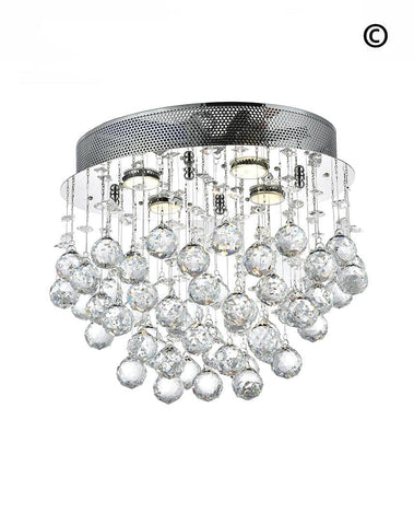 Oval Cluster Chandelier - COLLECTION
