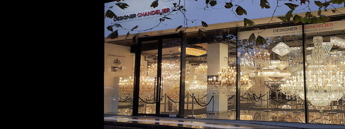 Eureka Tower Showroom 400+ Chandeliers On Display! Visit
