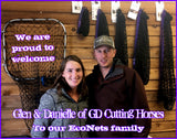 Glen & Danielle of GD Cutting Horses with EcoNets