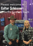 Colter Schlosser with Shauna Johnson owner & creator of EcoNets
