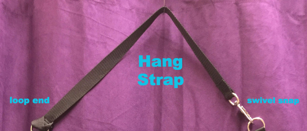 "Strap with 2 Snaps ~ 1"" x 16"""