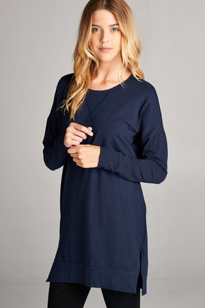 The Midnight Tunic in Navy