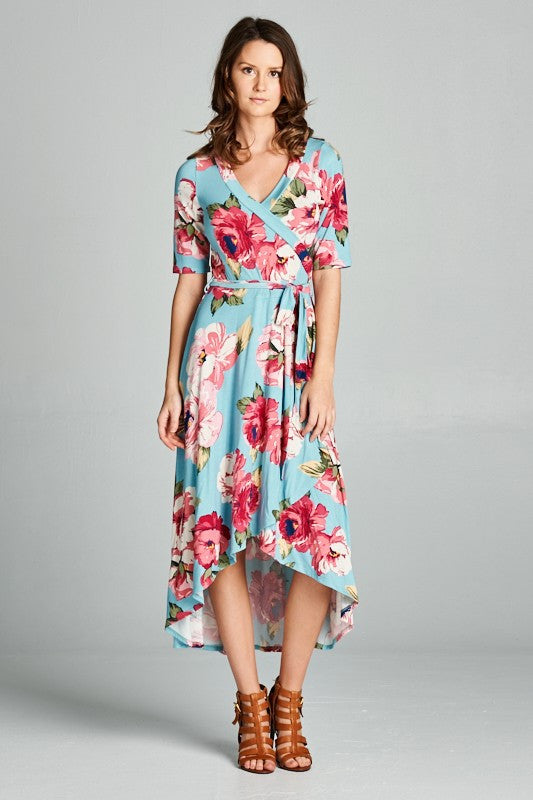 The Alexander High-Low Dress