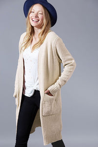 The Long Carri Knit Cardigan