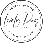 As Featured on Lovely Day Journal
