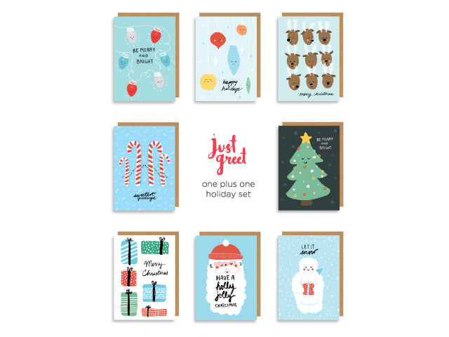 one plus one holiday set