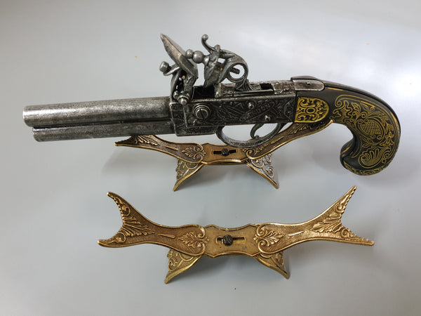 Antique Pistol Stand