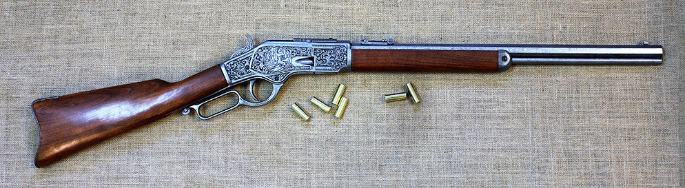 73 Winchester (silver engraved)