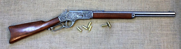 73 Winchester (silver) engraved