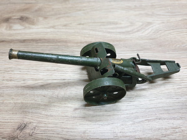 Antique Britains Toy Metal Cannon