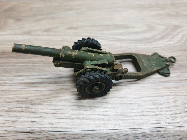 Antique Toy Metal Cannon Dinky Eng