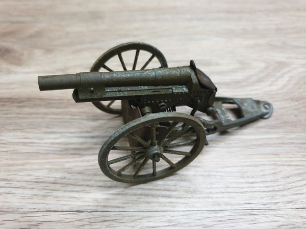 Antique Toy Metal Cannon - Japan