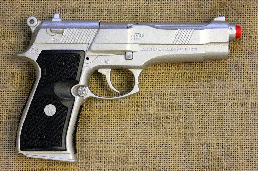 Beretta in silver - Toy Gun