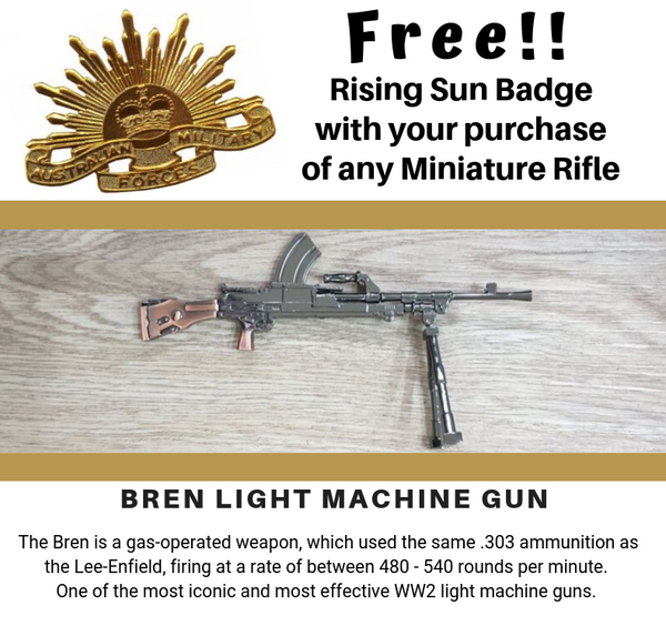 Miniature Bren Light Machine Gun