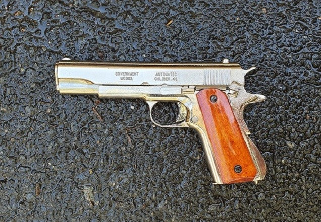 Colt .45 M1911A1 Field Strippable Replica (Chrome)