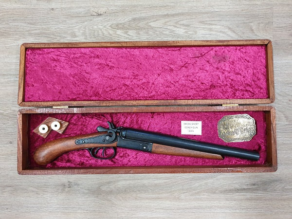 Double Barrel 12G Short Coach Gun Boxed