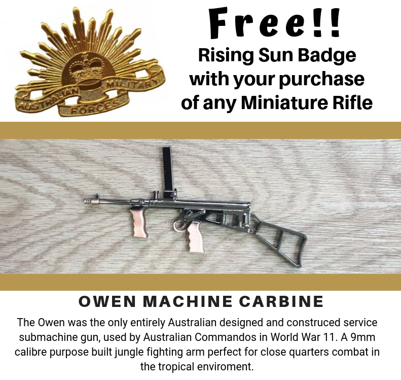 Miniature Owen Machine Carbine