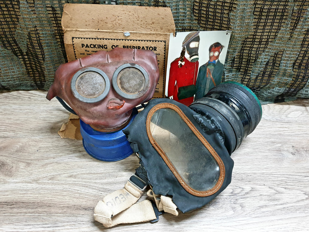 Child and Adult Gas Masks