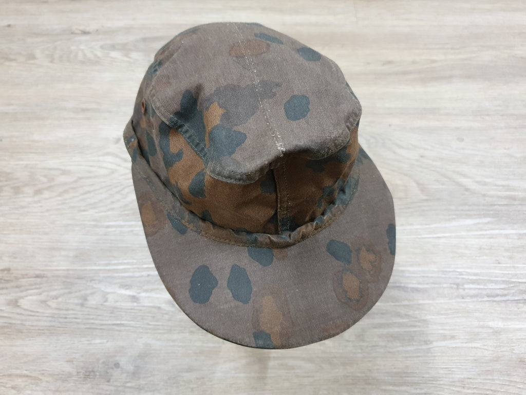 German Camo Cap Pea Dot / Reversible