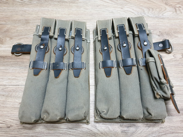 German pair MP40 Mag Pouches