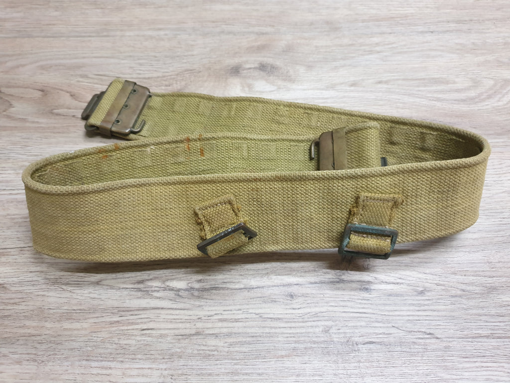 WW2 Era P38 Web Belt