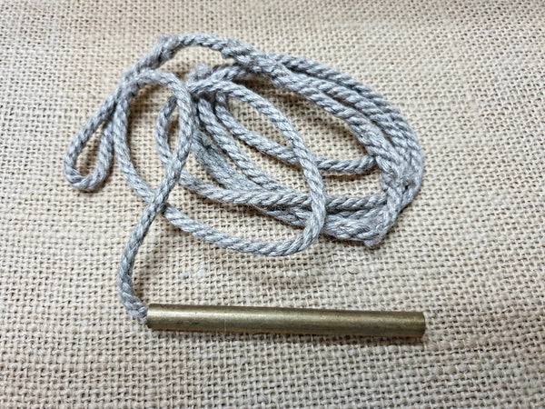 303 Rifle Cleaning Rope (brass weight)